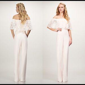 BHLDN Theia Bridemaids Mila Jumpsuit Size 0
